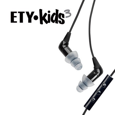 ETY•Kids3 Hi-Fi Earphones + Headset with Apple® 3-Button Control